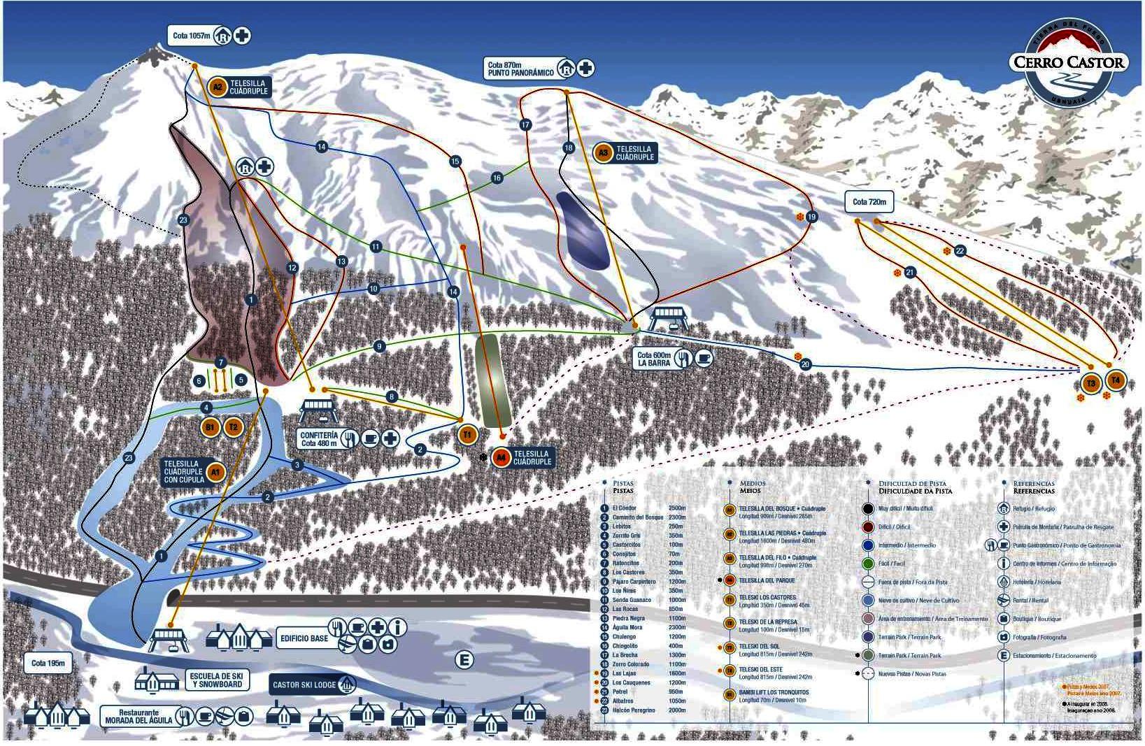 Ski In Ushuaia