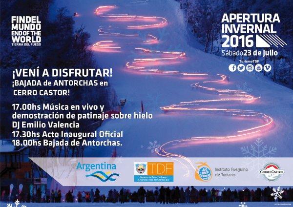 Apertura Temporada Invernal 2016